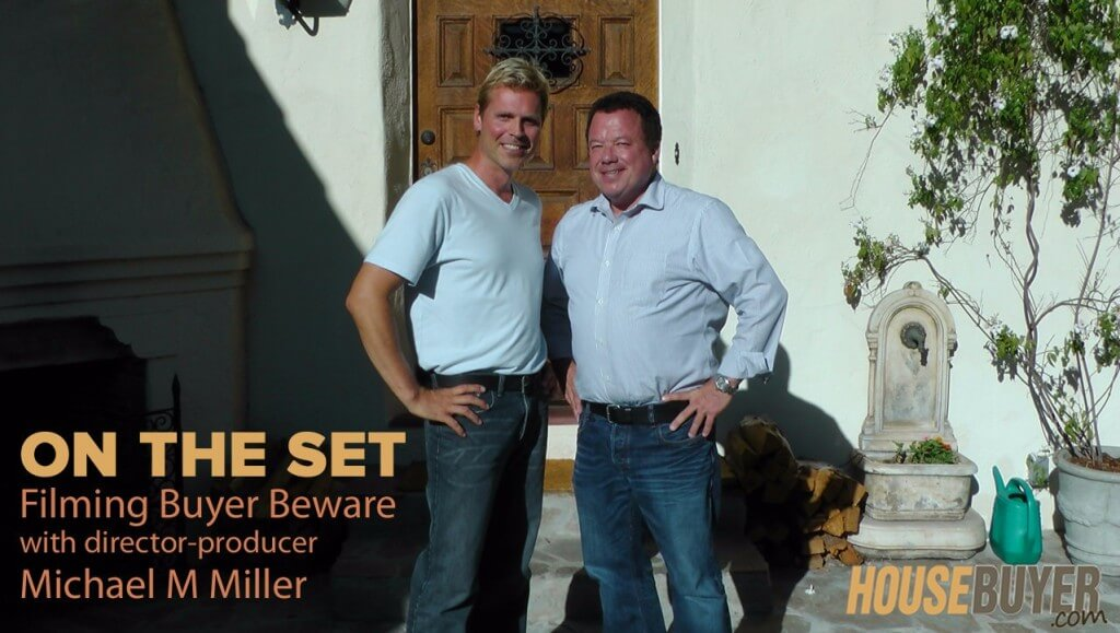 Scott FladHammer on the set filming Flipping Houses