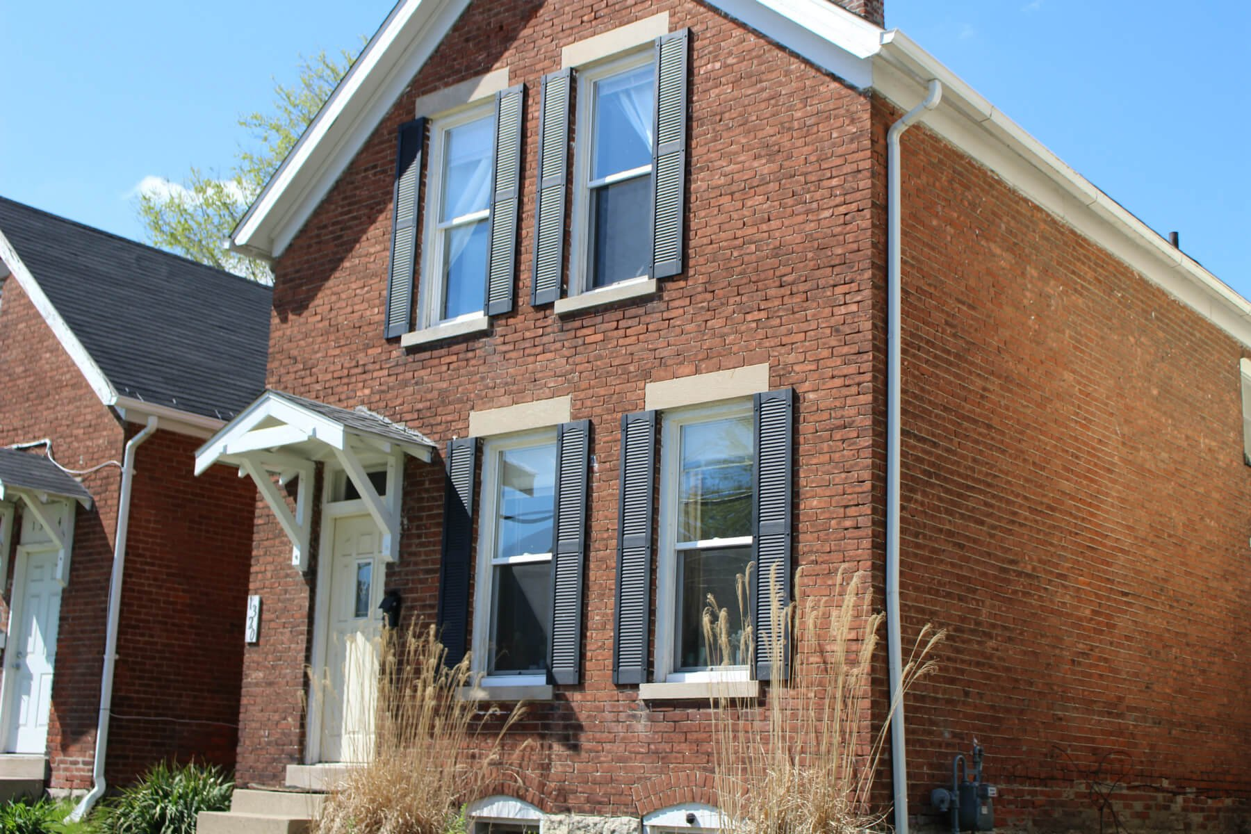 Solid brick 2 or 3 bed fort wayne home w daylight basement for Daylight basement homes