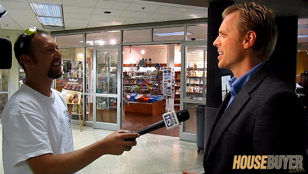 News interview with real estate expert Scott FladHamer on flipping houses