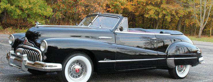 Rare 1948 Buick Super Convertible