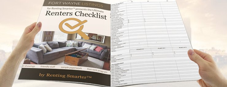 To find the best houses and apartments use the FREE Ultimate Renting Checklist